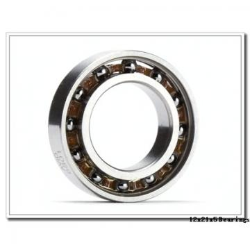 12 mm x 21 mm x 5 mm  NSK 6801VV deep groove ball bearings