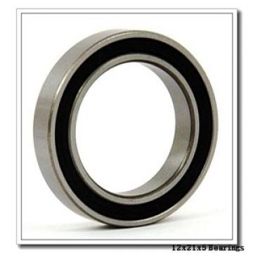 12 mm x 21 mm x 5 mm  FBJ 6801 deep groove ball bearings