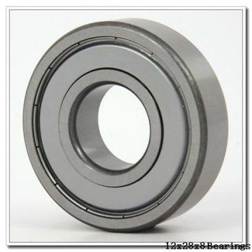 12 mm x 28 mm x 8 mm  NSK 6001T1XVV deep groove ball bearings