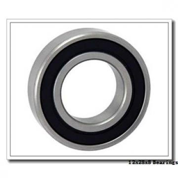 12 mm x 28 mm x 8 mm  FAG F-568368 deep groove ball bearings