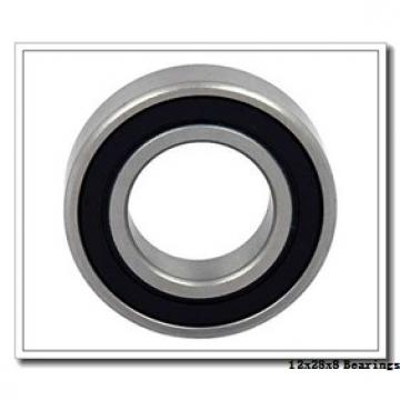 12 mm x 28 mm x 8 mm  KOYO 3NCHAC001CA angular contact ball bearings