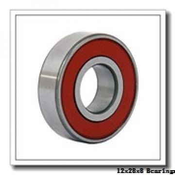 12 mm x 28 mm x 8 mm  NSK 6001 deep groove ball bearings