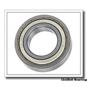 12 mm x 28 mm x 8 mm  KBC 6001ZZ deep groove ball bearings