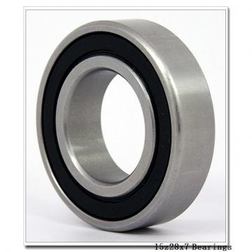 15 mm x 28 mm x 7 mm  NACHI 6902ZE deep groove ball bearings